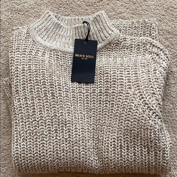 BRAND NEW- Warm Tan Sweater